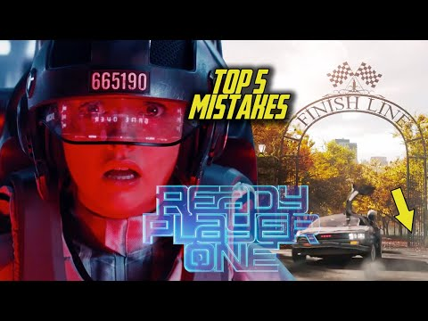 Ready Player One - Top 5 Movie Mistakes