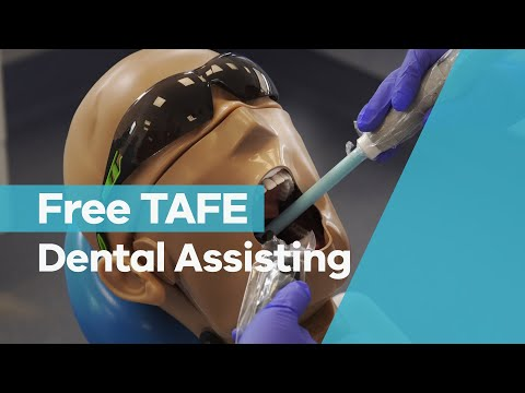 Free TAFE - Dental Assisting - YouTube