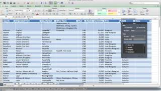 Using Excel Tables For Genealogy