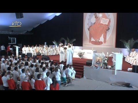 Messe d'envoi des volontaires FIDESCO - Paray-le-Monial