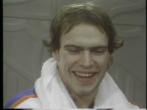 21 yr. old Mark Messier Interview - Feb.6,1982