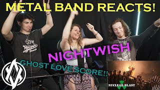 Metal Band Reacts! | Nightwish - Ghost Love Score (Live!)