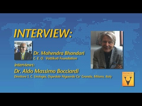 Interview-  Dr. Aldo Massimo Bocciardi