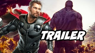 Avengers 4 Endgame Trailer Thanos Scene and New Promo Explained