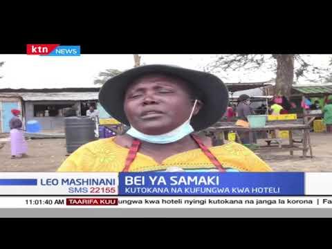 Bei ya samaki imepungua ziwa Naivasha kwa zaidi ya 50% kutokana na kufungwa kwa hoteli