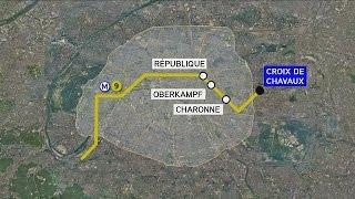 Attentats de Paris : Abaaoud filmé à une station de métro de la ligne 9