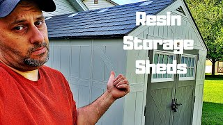 Resin Storage Sheds - The Good, The Bad The Ugly.