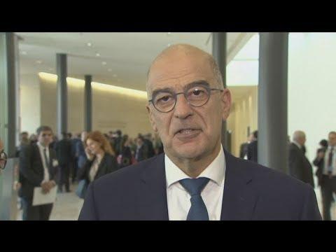 Δήλωση  Νίκου Δένδια, μετά το πέρας των εργασιών του Συμβουλίου Εξωτερικών Υποθέσεων (ΣΕΥ) της ΕΕ
