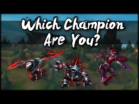 Which League of Legends Champion Are You? - 5 Questions - Interactive Personality Quiz!