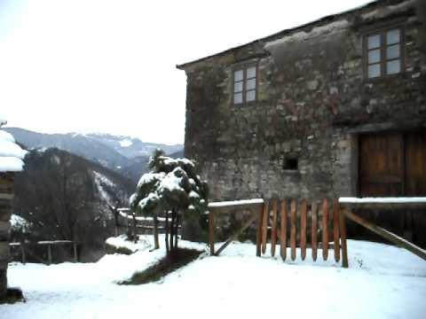 Casa Goje un Dia de Nieve