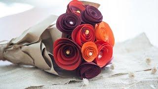 DIY วิธีทำดอกไม้กระดาษ เก็บได้ตลอดชาติ ไม่แห้ง ไม่เหี่ยว