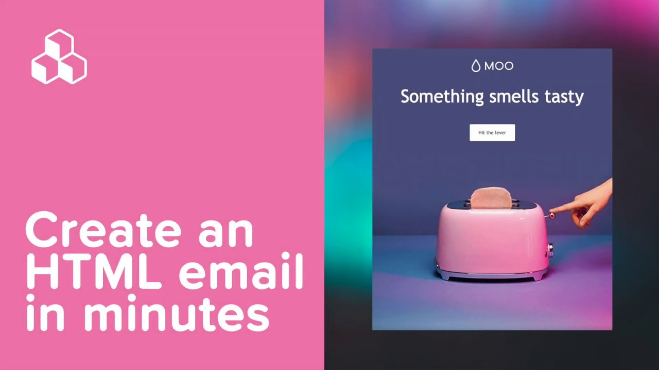 Create an HTML email in minutes