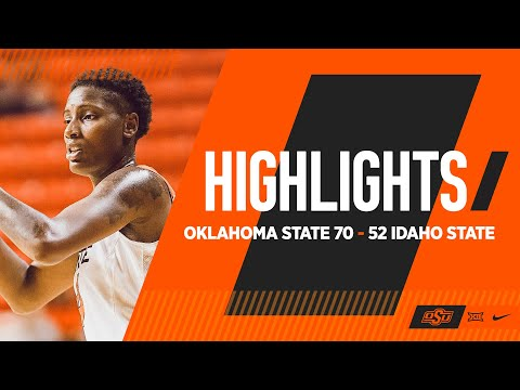 Mack Magnificent as Cowgirls Win Again | Oklahoma State 70-52 ISU | Cowgirl Basketball Highlights