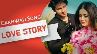 💜New Garhwali Love Song💜💜●Preet Ku Rog●Pahadi Love Story●Garhwali New Song 2019●Ashish Chamoli Ji