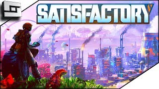 NEW Factorio In 3D! Satisfactory Gameplay Ep 1