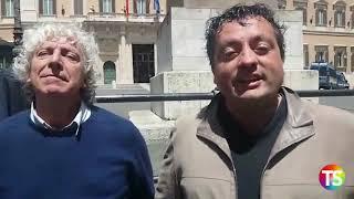 17.5.19, LA TECNICA: Intervista D'Errico, Bernocchi, Pacifico: Protesta A Montecitorio