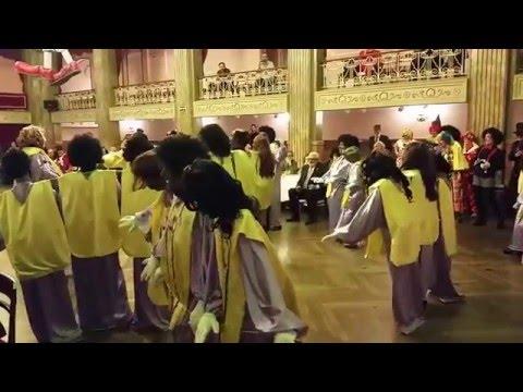Carnaval 2016 | Baile de Disfraces (12. Coro de Gospel 3 en 1)
