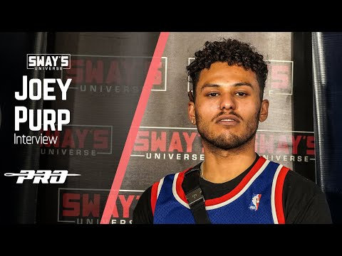 Joey Purp Talks 'QUARTERTHING', Vic Mensa Verse and Freestyles | Sway In The Morning