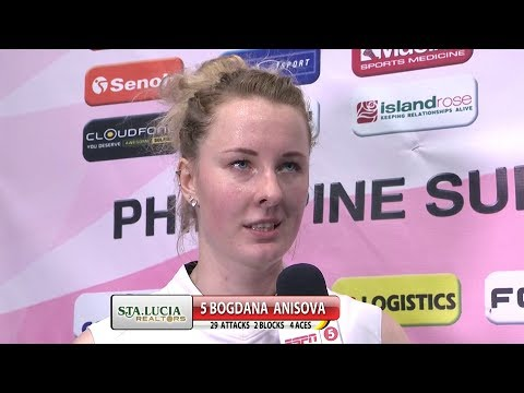 Match MVP: Bogdana Anisova  | Chooks-to-Go PSL Grand Prix 2017