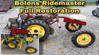 Bolens Ridemaster Full Restoration (Before & After)
