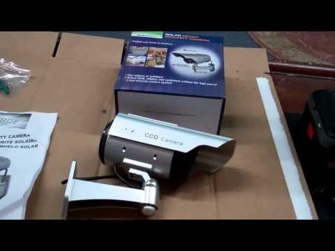 SunForce 82340 Solar Decoy Security Camera Review