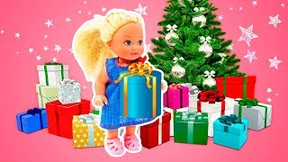 Barbie's Christmas Gifts: Barbie Baby Doll Videos