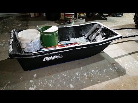 Otter II Pro Sled with Hyfax Runner Kit / ATV Hitch