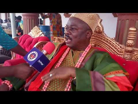 Celebration of the promotion of HRM Kabiyesi Oba Adedayo the Alagbado of Alagbado, ogun state.