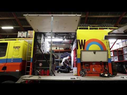 Dakar voorbereidingen Rainbow Truck Team