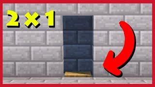 Minecraft: Come Fare Una Porta Automatica 2x1