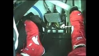 Holden HRT V8 Supercar heal - toe shifting