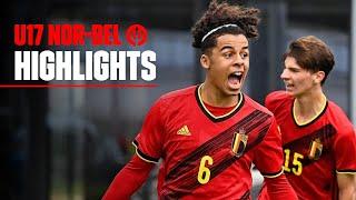 U17 | Highlights Norway 0-2 Belgium