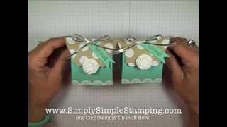 Simply Simple TREAT BOX By Connie Stewart