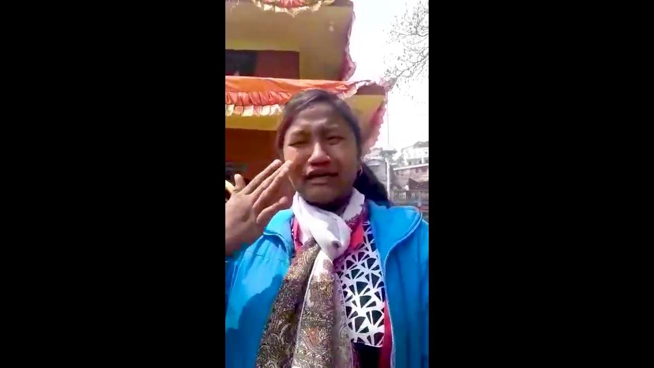 'ठूलाको प्रभावमा परेर हामीलाई प्रहरीले निर्मम कुटे' (भिडियो)