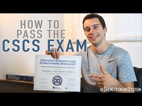 How to Pass the CSCS Exam - YouTube