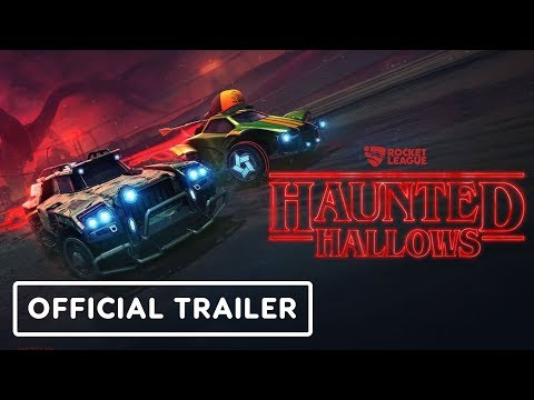 Rocket League - Haunted Hallows (Stranger Things) Trailer