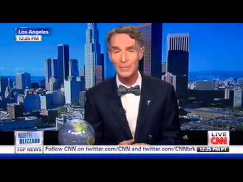 CNN Anchor Asks Bill Nye If Global Warming Had Anything To Do With A Near-Earth Asteroid