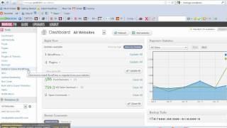 Manage multiple Wordpress websites with Manage.FM