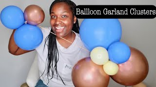 How I Make Balloon Garland Clusters / Fillers | Tutorial