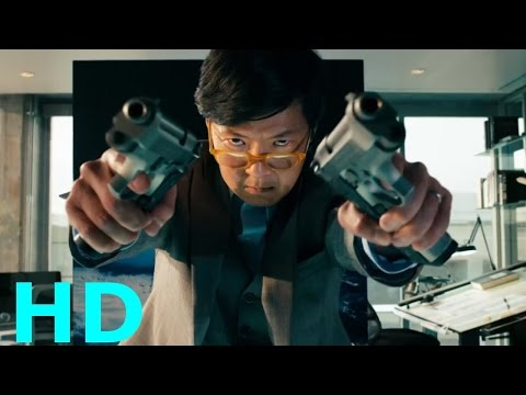 Laserbeak Attacks ''Jerry Wang's Death'' - Transformers: Dark Of The Moon Movie Clip Blu-ray HD