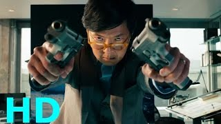 Laserbeak Attacks ''Jerry Wang's Death'' - Transformers: Dark Of The Moon Movie Clip Blu-ray HD