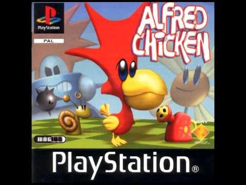 Alfred Chicken Playstation