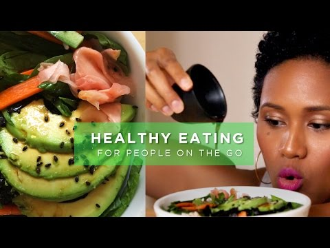 Video 3 Healthy Meals in 5 Minutes (Vegan/Vegetarian Friendly)