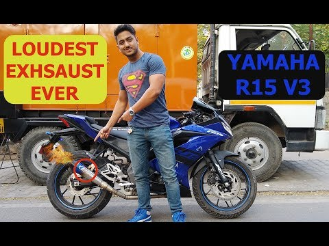 best exhaust for your r15 v3 - смотреть онлайн на Hah Life