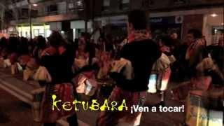 preview picture of video 'Ketubara Cabalgata Reyes 2013 Horta Guinardo - Batucada Barcelona'