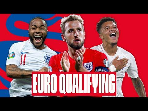 EVERY GOAL ⚽️ UEFA Euro 2020 Qualifiers | Kane Sterling Sancho Rashford | England