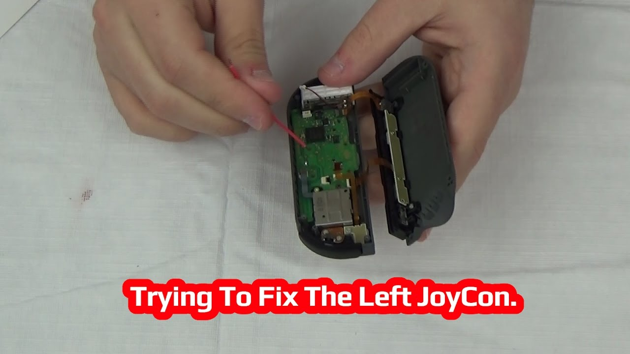 A Way To Improve The Left JoyCon On The Nintendo Switch