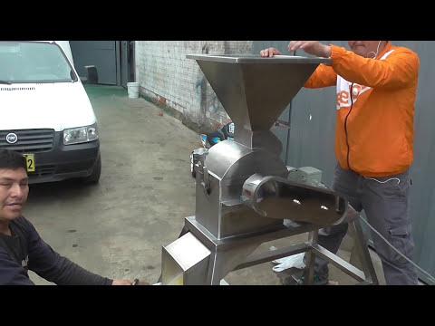 Molino de Martillo ( Moler y micropulvizar  maiz , trigo ,  etc )