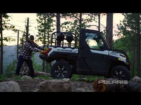 2021 Polaris Ranger Crew XP 1000 Trail Boss in Bigfork, Minnesota - Video 1