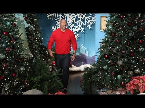 Dwayne Johnson Has Exciting Baby News! (видео)